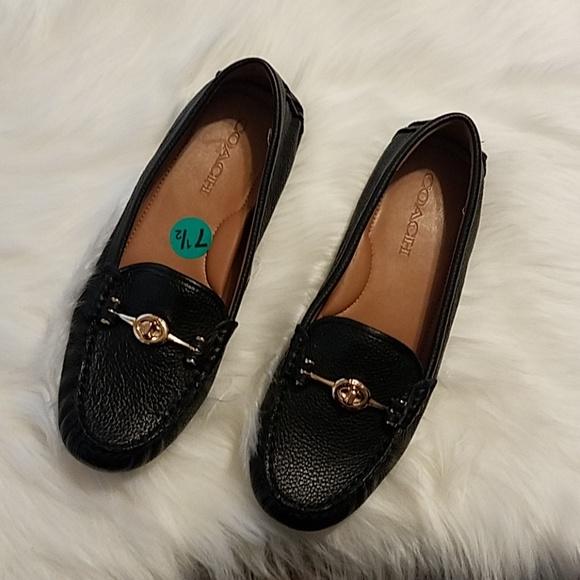 e5c4d2553a1 Coach Shoes - NWOT Coach Black Loafers 7.5 B